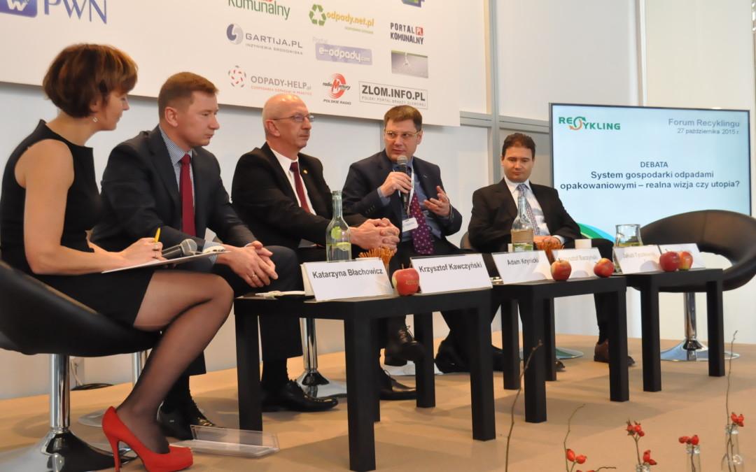EKO-PAK na XIV Forum Recyklingu podczas Targów POL-ECO-System