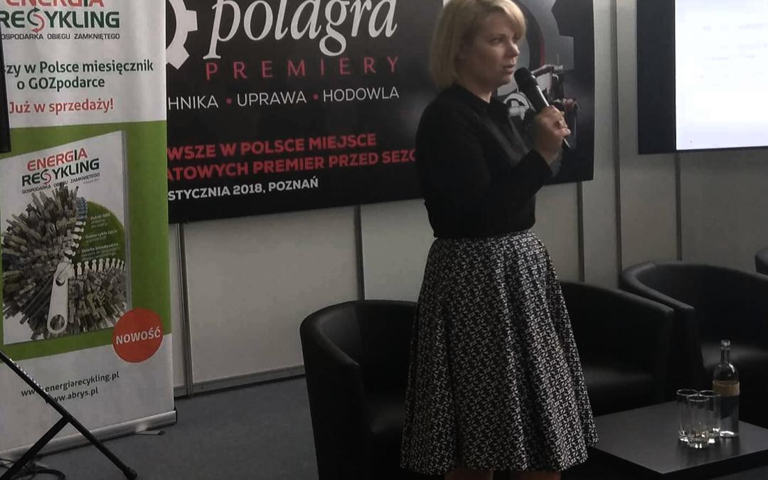 Związek EKO-PAK ekspertem na Polagrze Premiery 2018