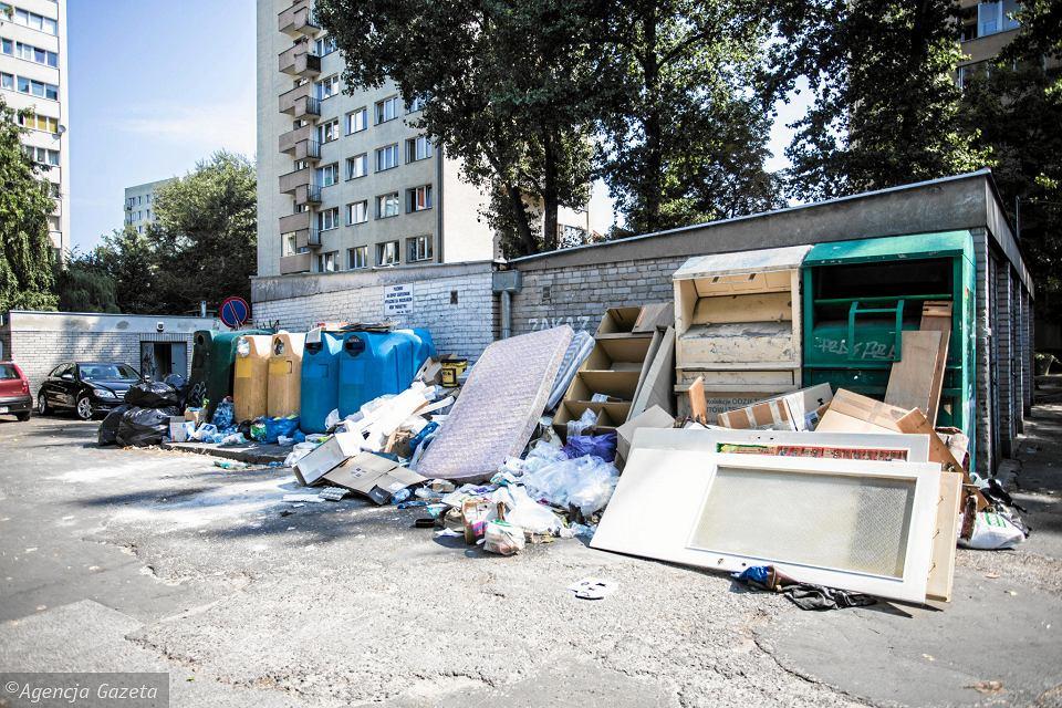 Warszawę zaleją śmieci? Marszałek Struzik: Za chwilę możemy mieć Neapol