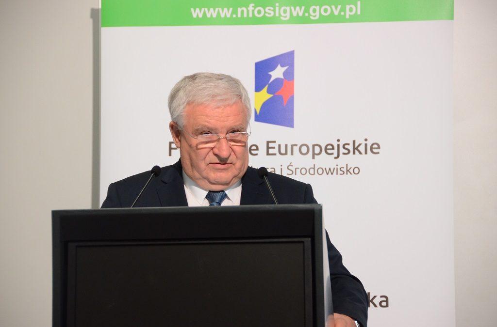 Kazimierz Kujda zrezygnował z funkcji prezesa NFOŚiGW