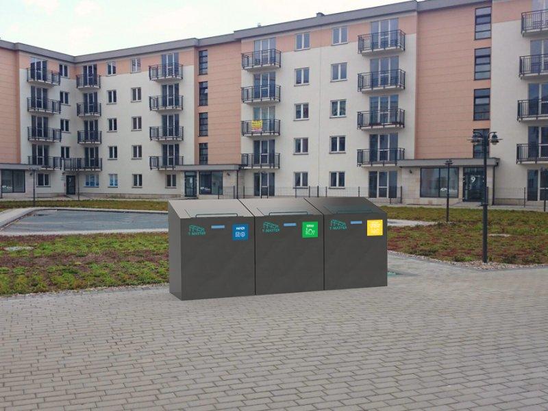 Pojemniki sprawdzą, czy mieszkańcy segregują odpady