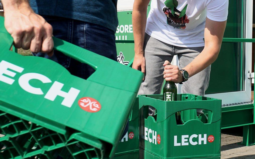 Punkt skupu butelek po piwie powstał w Poznaniu